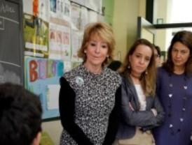 Aguirre anuncia una prueba para 2º de Primaria