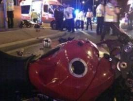 Fallece un hombre de treinta años tras perder el control de su motocicleta en la plaza de Colón