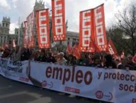 Los sindicatos exigen medidas contra la crisis