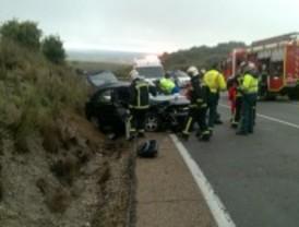 Muere un conductor de 45 años al chocar con otro coche en Valdemorillo