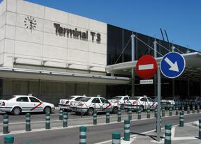 Aparcamiento taxis. T3. Aeropuerto de Barajas