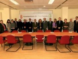 Empresarios y comerciantes de Tres Cantos acuden a la presentación del Plan FICOH para 2011