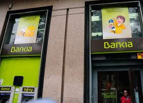 Bankia vuelve a cotizar en el Íbex después de casi un año