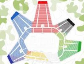 El pabellón olímpico de gimnasia respeta las 4 'R' de la sostenibilidad