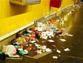 Metro suspende las actuaciones infantiles por la huelga de limpieza