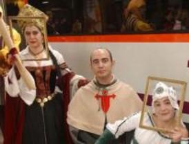 Este sábado vuelve a circular el Tren Medieval a Sigüenza