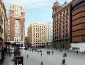 Los lectores de Madridiario piden crear un jardín en la peatonalización de Callao