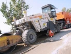 Las carreteras de Villanueva de Perales y Villamantilla, recicladas