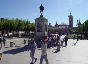 Plaza Cervantes en Alcalá de Henares