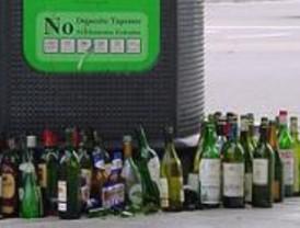 Madrid incrementa el reciclaje de vidrio por encima de la media, aunque es una de las que menos separa