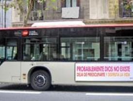 El 'bus ateo' comienza a rodar este martes por la capital