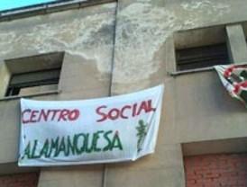 Las 'okupaciones' llegan también al exclusivo barrio de Salamanca