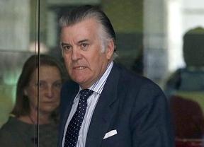 El extesorero del PP Luis Bárcenas sal de declarar en la Audiencia Nacional