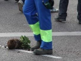 Los jardineros desconvocan las huelgas y las manifestaciones
