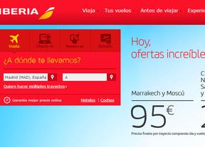 Iberia lanza un millón de plazas desde 35 euros