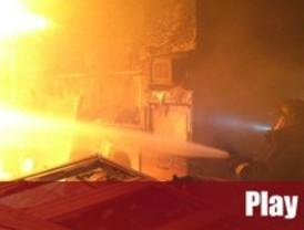 Interrogan a la mujer del fallecido en un incendio Colmenar Viejo