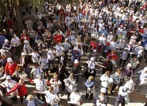 Más de 1.000 participantes en la Marcha Popular de Mayores de Las Rozas