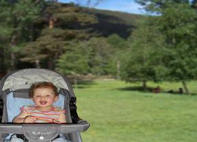 Portada de la guía de rutas son sillas de bebés