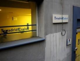 Protesta contra el traspaso de Madrid Salud