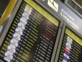Cancelados once vuelos en Barajas