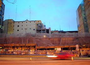 Los edificios okupados de Plaza de España son historia