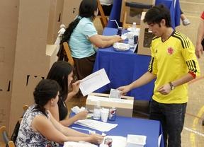Los colombianos también votan en Madrid