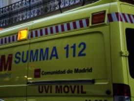 Un muerto y 5 heridos en un choque frontal entre dos coches en la M-410, a la altura de Humanes
