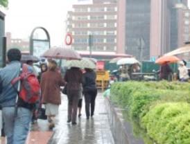Madrid en alerta por lluvias y tormentas