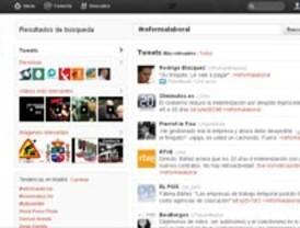 La #reformalaboral, en Twitter