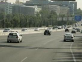 Leves retenciones en las carreteras