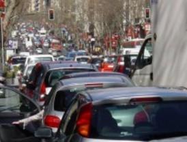 Hora punta complicada para el tráfico