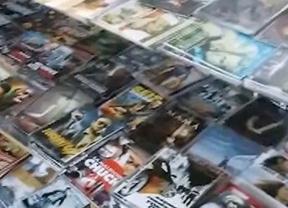 Incautadas más de 26.000 copias piratas en Lavapiés