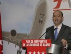 Lamela pide colaboración para la planificación de los aeropuertos de Campo Real y El Álamo