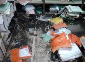 Inundados los archivos del juzgado de Torrejón de Ardoz