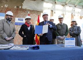 Getafe pone la primera piedra de la rehabilitación del antiguo mercado municipal