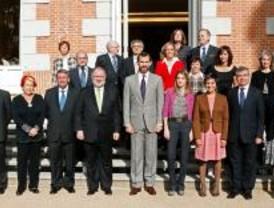 Los Príncipes reciben a los galardonados por la Asociación de la Prensa de Madrid