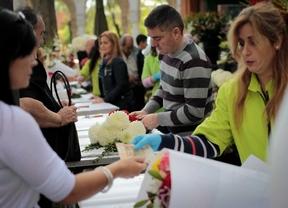 Las familias madrileñas acuden al cementerio
