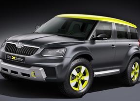 Skoda Yeti Xtreme, un SUV disfrazado de rallyes