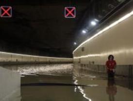 Calvo dice que la inundación del túnel de la M-30 se debió a la mala fortuna