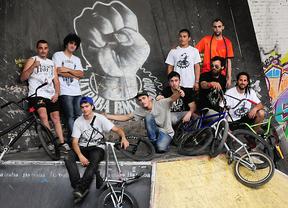 Bikers en La Traba
