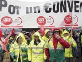 Más de 2.000 trabajadores de limpieza reivindican en Sol un salario digno