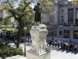 Largas colas en el Museo del Prado en los últimos días de Semana Santa
