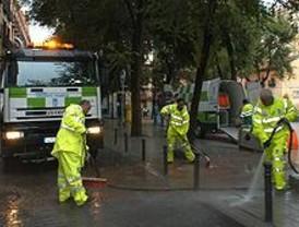 El Ayuntamiento de Madrid retiró más de 43.000 kilos de basura de Colón