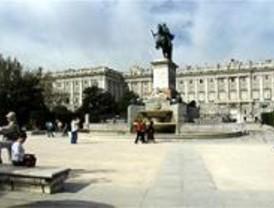 La explanada del Palacio Real, escenario del mundial de squash
