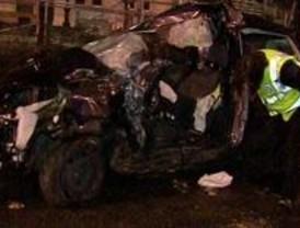 Muere tras chocar su coche contra la mediana en el Paseo de la Castellana