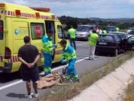 Fallece una mujer de 78 años en una colisión frontal en la M-501