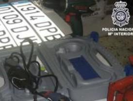 Detenidas diez personas en Madrid que se dedicaban al robo de coches
