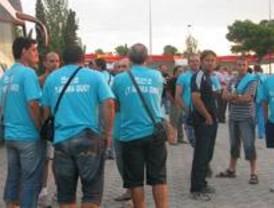 Trabajadores de Roca viajan a Barcelona para evitar el despido de 713 compañeros