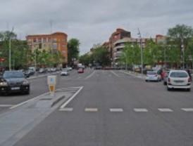 La rotura de una tubería deja dos días sin agua el paseo de Extremadura