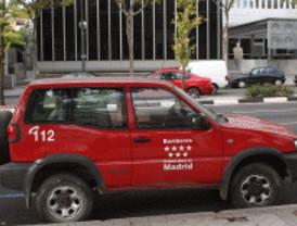 Dos incendios en 'Sanse' y Madrid dejan cinco heridos